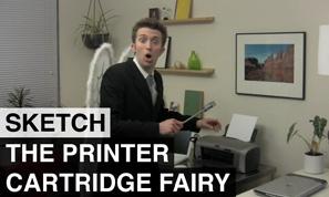 The Printer Cartridge Fairy