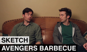Avengers Barbecue