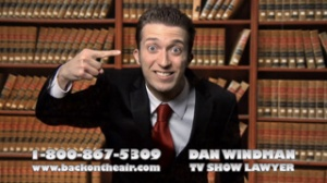 Dan Windman, TV Show Lawyer