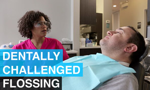 Flossing - Dentally Challenged